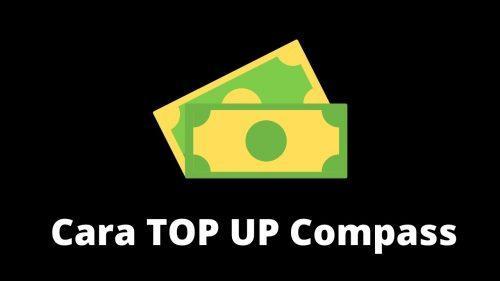Cara TOP UP Compass Apk Pakai Kode Voucher!