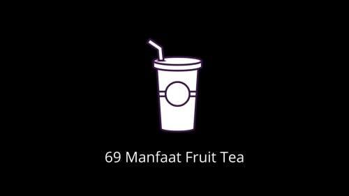 Manfaat Minuman Fruit Tea Yang Viral di TikTok